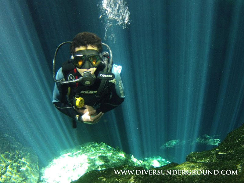 Scuba Diving Cenotes from Cozumel… How to?