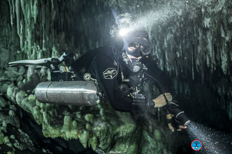Razor Sidemount Cave Instructor
