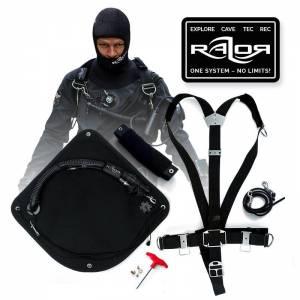 Basic Razor Sidemount Harness 2.5