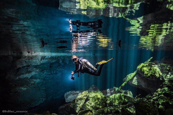 Cave Diving in Puerto Aventuras