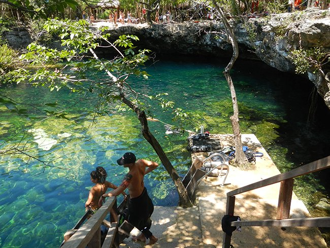 Cenote Ponderosa Jardin Del Eden Divers Underground Mexico Diving