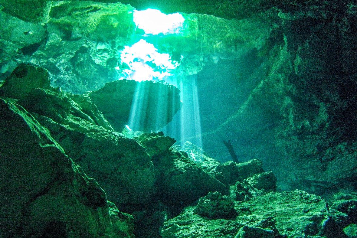 Instagram Cavern Diving in Cenotes