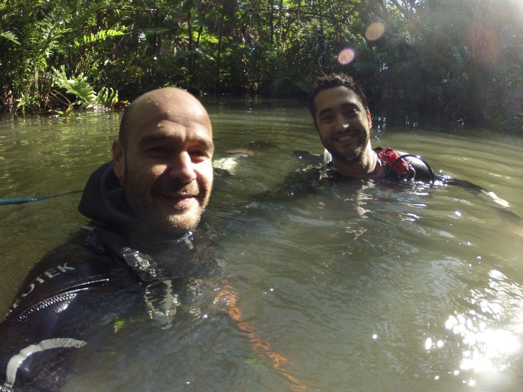 Cave Diving Instructor
