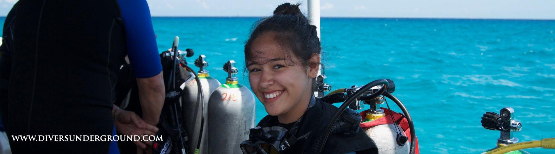 Scuba Diving in Playa Del Carmen