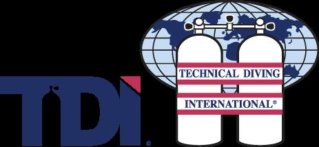 tdi logo divers underground