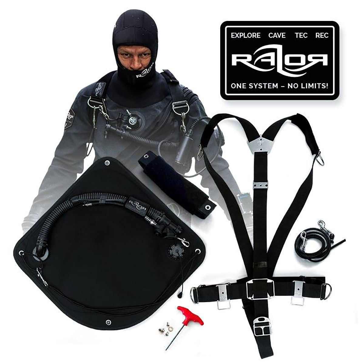 razor basic sidemount system 2.5