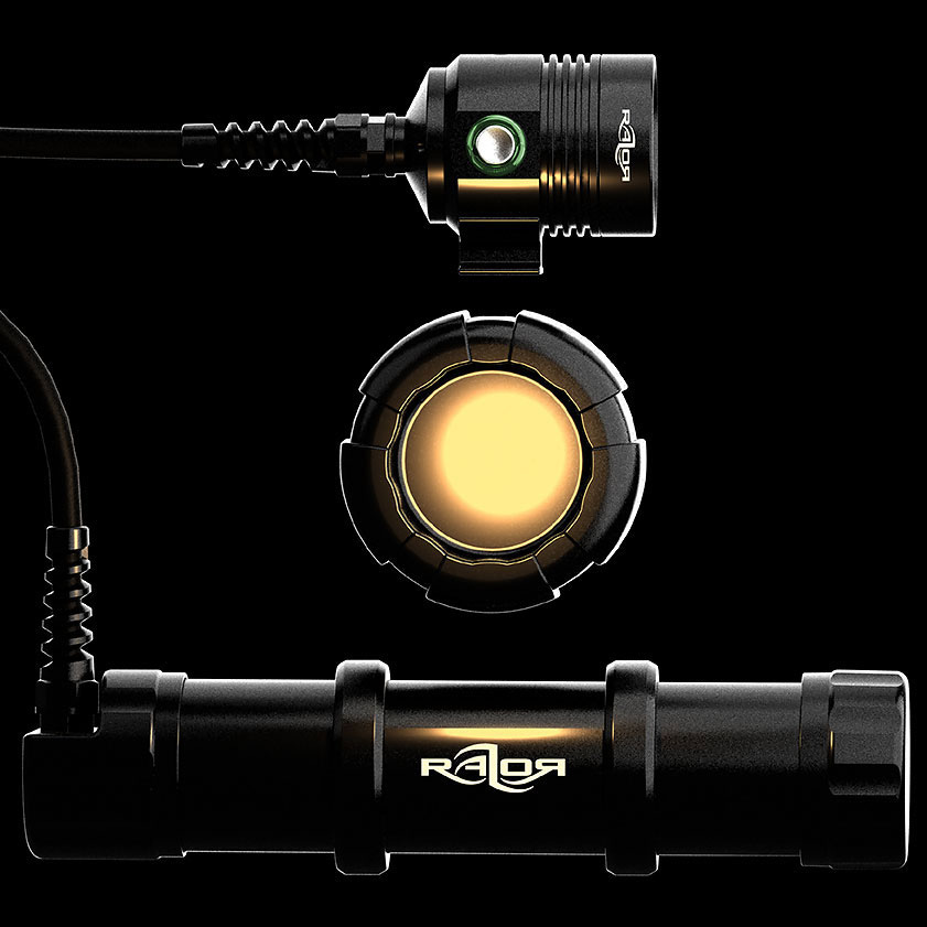 Razor sidemount system primary light l4200