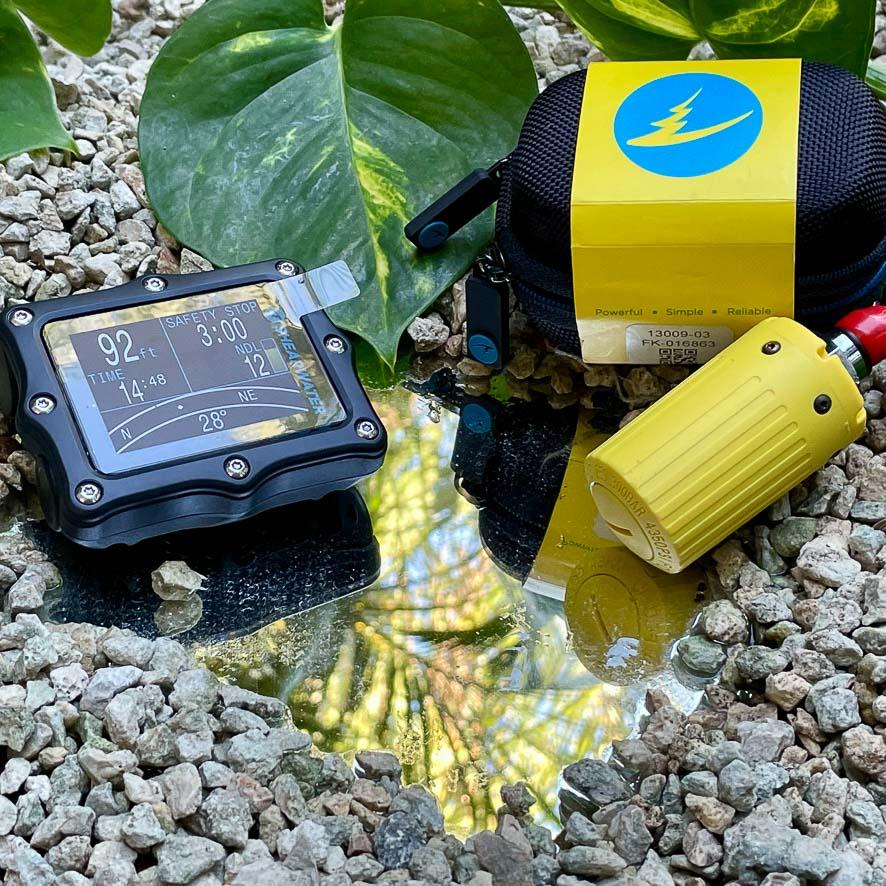 shearwater perdix ai and yellow transmitter combo
