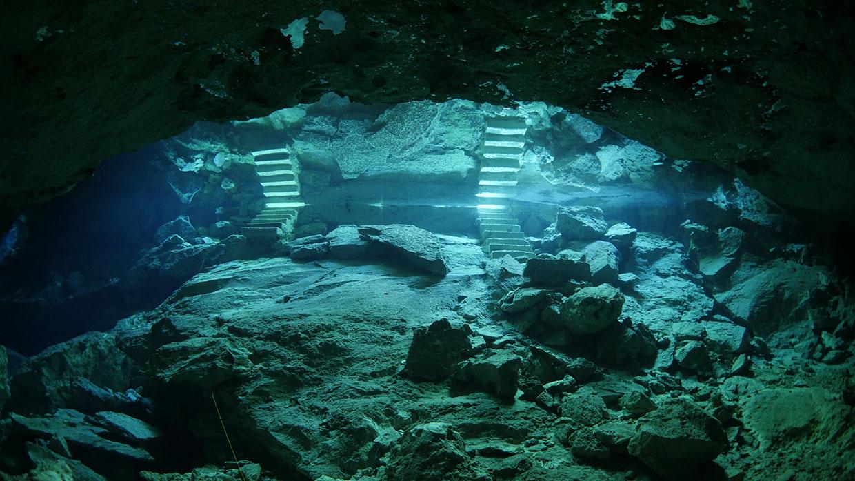 cenote little brother underwater